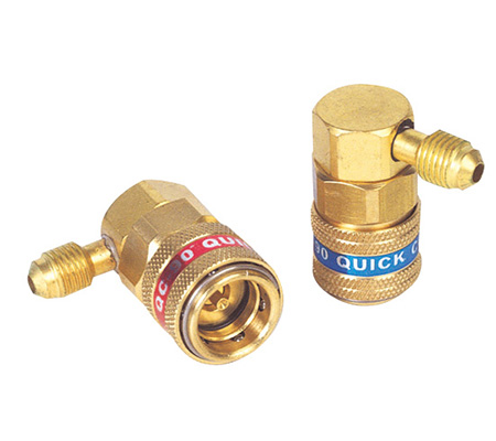 QC-15 PNM High Side & Low Side 90 Degree Couplers