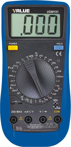 Value Digital Multimeters VDM-151 in Dubai