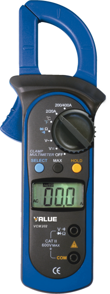 Value digital clamp multimeters VCM-202 in Dubai