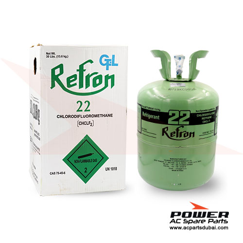 Refron Refrigerant Gas R22 13.6KG Suppliers Dealers in Dubai