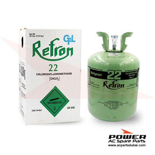 Refron Refrigerant Gas R22 13.6KG Suppliers Dealers in Dubai